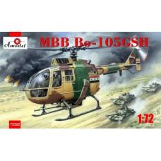 Amodel 1/72 Многоцелевой ударный вертолет MBB Bo-105-GSH (IRAK 1991). № 72322