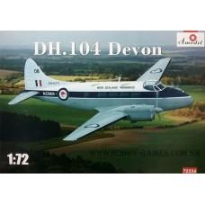 Amodel 1/72 Британский самолёт De Havilland DH.104 Devon. № 72334