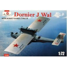 Amodel 1/72 Многоцелевая летающая лодка Dornier J Wal ВВС РККА. № 72336