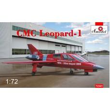 Amodel 1/72 Английский легкий административный самолет CMC Leopard 1. № 72341