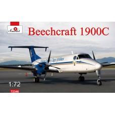 Amodel 1/72 Американский турбовинтовой транспортный самолет Beechcraft 1900C. № 72346