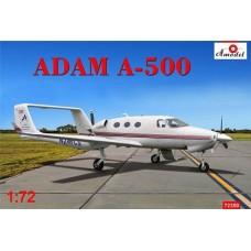 Amodel 1/72 Американский гражданский бизнес-самолёт Adam A-500 AdamJet. № 72350