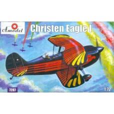 Amodel 1/72 Американский спортивный самолёт Christen Eagle I. № 7287
