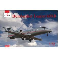 Amodel 1:72 Административный самолёт Bombardier Learjet 60XR Vista Jet. № 72325