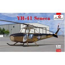 """Amodel 1/72 Американский вертолет YH-41 Seneca"""". № 72366"""