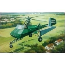 AMP 1:72 Немецкий легкий разведывательный вертолет Doblhoff WNF 342. № 72006