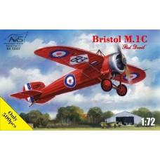 """AviS 1:72 Британский легкий гоночный самолет Bristol M.1C """"Red Devil"""". № 72037"""