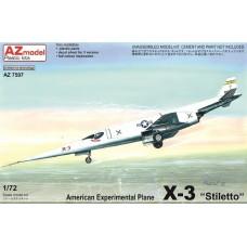 AZmodel 1:72 Американский экспериментальный самолёт Douglas X-3 Stiletto Prototype. № AZ7597