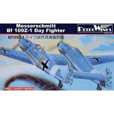 "AZmodel 1/72 Немецкий истребитель Messerschmitt Bf.109Z-1 ""Zwilling"". № RTW7202"