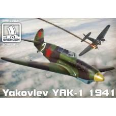 Brengun 1/72 Советский истребитель Як-1, версия 1941 года. № BRE_72020