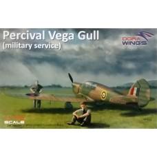 Dora Wings 1/72 Легкий многоцелевой самолет Percival Vega Gull Mk.I Military Service. № 72004