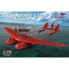 Dora Wings 1/72 Итальянский гидросамолёт Savoia-Marchetti S.55. № 72015