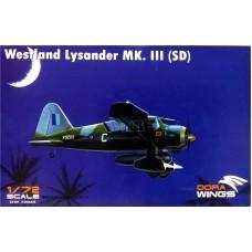 Dora Wings 1/72 Британский легкий вспомогательный самолет Westland Lysander Mk.III. № 72023