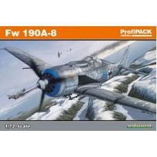 Eduard 1/72 Немецкий истребитель Fw-190A-8 (Profipack). № 70111