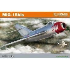 """Eduard 1/72 Советский истребитель Миг-15 Бис """"Fagot"""" (ProfiPACK). № 7056"""