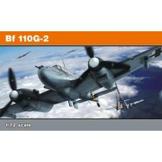Eduard 1/72 Немецкий истребитель-бомбардировщик Messerschmitt Bf.110G-2. (ProfiPACK). № 7085