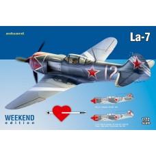 Eduard 1/72 Советский истребитель Ла-7 (Weekend edition). № 7425