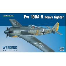 Eduard 1/72 Немецкий тяжелый истребитель Fw-190A-5 (Weekend edition). № 7436