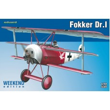 Eduard 1/72 Германский самолет Fokker Dr.I (Weekend edition). № 7438