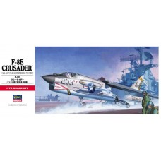Hasegawa 1/72 Американский палубный многоцелевой истребитель Vought F-8E Crusader. № HAS_00339