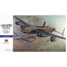 Hasegawa 1/72 Британский тяжёлый бомбардировщик Avro Lancaster B Mk.I/Mk.III. № HAS_00553