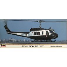 "Hasegawa 1:72 Американский вертолет UH-1H ""Iroquois"" VIP, 78-го авиационного батальона, база Zama, Япония. № 00195"