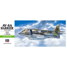 Hasegawa 1/72 Американский палубный истребитель Hawker AV-8A Harrier. № HAS_00240