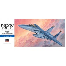 """Hasegawa 1/72 Американский/Японский учебно-тренировочный самолет F-15D/DJ """"Eagle"""". № HAS_00435"""