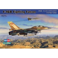 "Hobby Boss 1/72 Американский учебно-боевой самолет Lockheed Martin F-16B ""Fighting-Falcon"". № 80273"