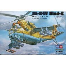 """Hobby Boss 1/72 Советский ударный вертолет Ми-24В """"Hind"""". № 87220"""