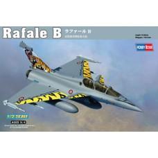 Hobby Boss 1/72 Французский истребитель четвертого поколения Rafale B. № 87245