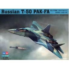 Hobby Boss 1/72 Российский истребитель пятого поколения Су-50 (Т-50). № 87257