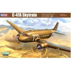 Hobby Boss 1/72 Американский военно-транспортный самолёт C-47A «Skytrain». № 87264