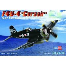 """Hobby Boss 1/72 Американский палубный истребитель F4U-4 """"Corsair"""". № 80218"""
