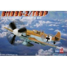 Hobby Boss 1/72 Немецкий истребитель Messerschmitt Bf.109G-2/Trop. № 80224
