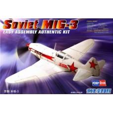 Hobby Boss 1/72 Советский истребитель МиГ-3. № 80229
