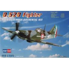 Hobby Boss 1/72 Французский истребитель Dewoitine D-520. № 80237