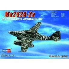 Hobby Boss 1:72 Немецкий реактивный истребитель Messerschmitt  Me-262A-2a. № 80248
