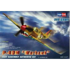 "Hobby Boss 1/72 Американский / британский истребитель Curtiss P-40M ""Warhawk""/ Kittyhawk III. № 80251"