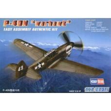 "Hobby Boss 1/72 Американский истребитель Curtiss P-40M ""Warhawk"". № 80252"