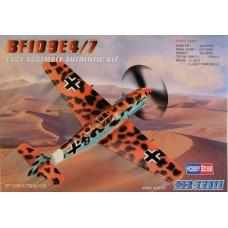 Hobby Boss 1/72 Немецкий истребитель Messerschmitt Bf.109E-4/7. № 80254
