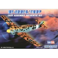 Hobby Boss 1:72 Немецкий истребитель Messerschmitt Bf.109E-4/Trop. № 80261