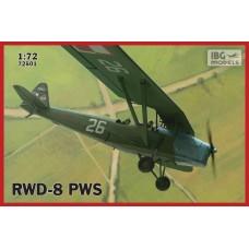 IBG Models 1/72 Польский самолет RWD-8 (Аэроклуб Краков). № 72501