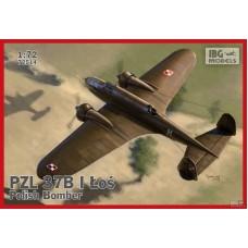 IBG Models 1/72 Польский средний бомбардировщик PZL.37B Los I. № 72514
