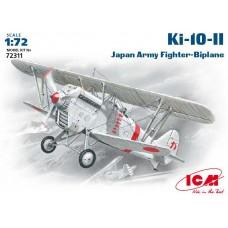 "ICM 1/72 Японский истребитель Kawasaki Ki-10-II ""Perry"". № 72311"