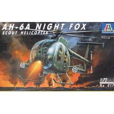 "Italeri 1/72 Американский вертолёт AH-6 A ""Night Fox"". № ITA_017"