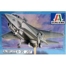 Italeri 1/72 Американский переспективный ударный истребитель Lockheed Martin X-35 JSF. № ITA_1209
