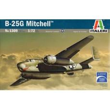 """Italeri 1/72 Американский бомбардировщик B-25G """"Mitchell"""". № ITA_1309"""