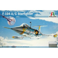 "Italeri 1/72 Американский истребитель F-104 A/C ""Starfighters"". № 1359"