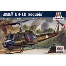 Italeri 1/72 Американский вертолёт Bell UH-1D Iroquois. № ITA_1247